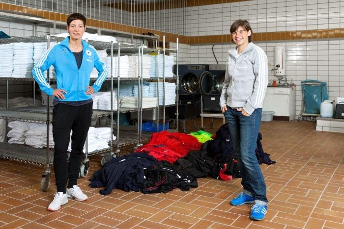 Linda Bresonik,Ariane Hingst,Frauenfußball; Nationalspieler