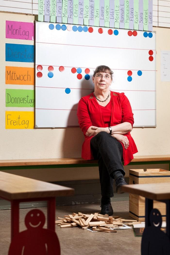 Brigitte Jochems,Schulleiterin Grundschule Spyckschule,Kleve